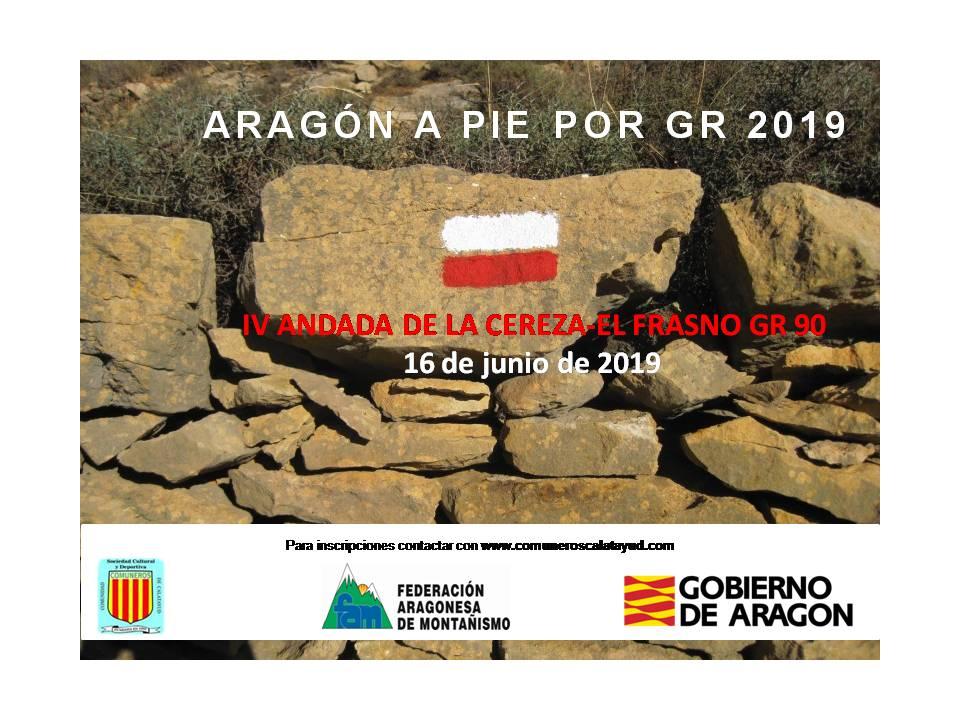 IV Andada de la Cereza El Frasno. GR 90. Comuneros Calatayud. 16.06.2019