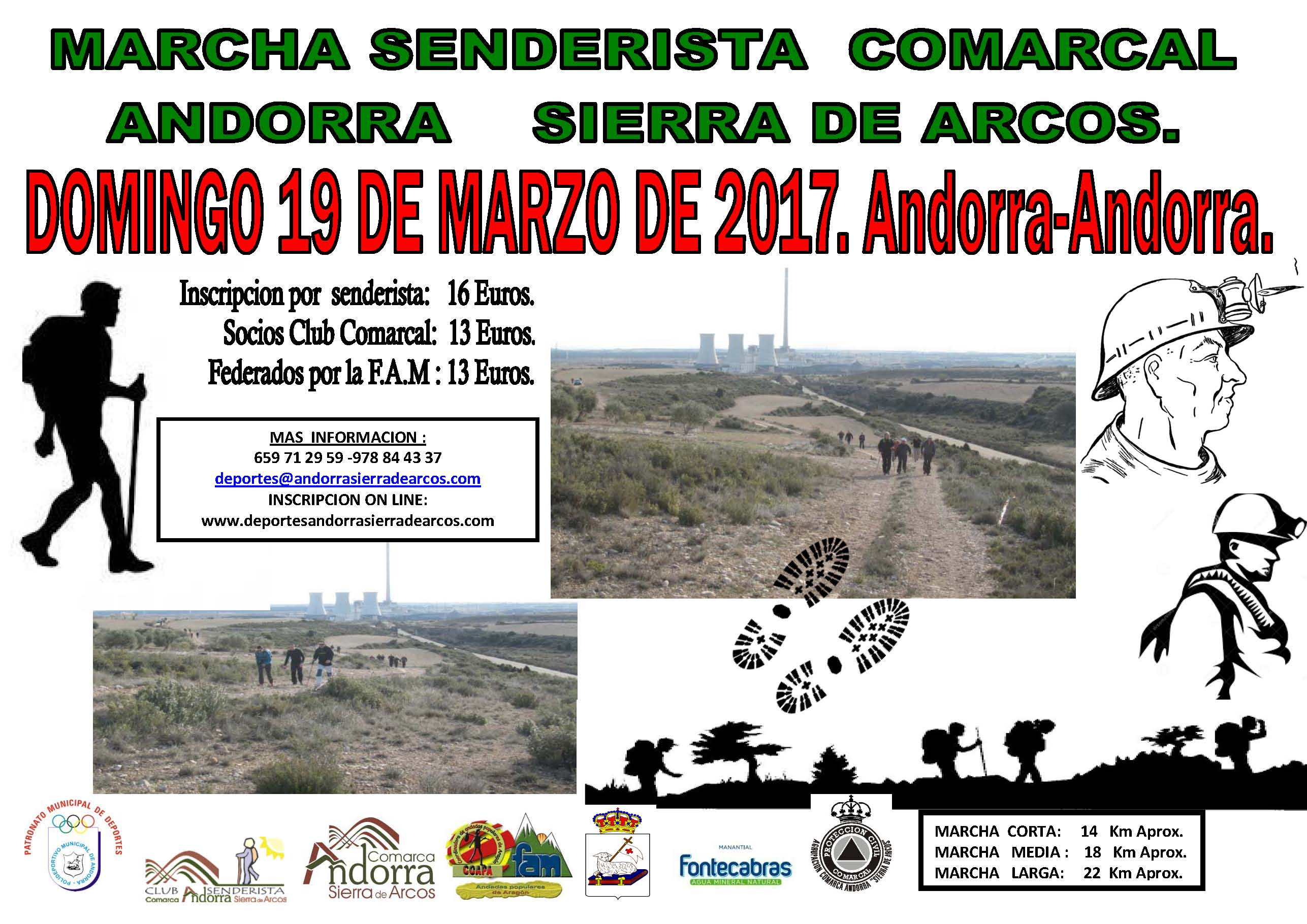 cartel marcha andorra 2017