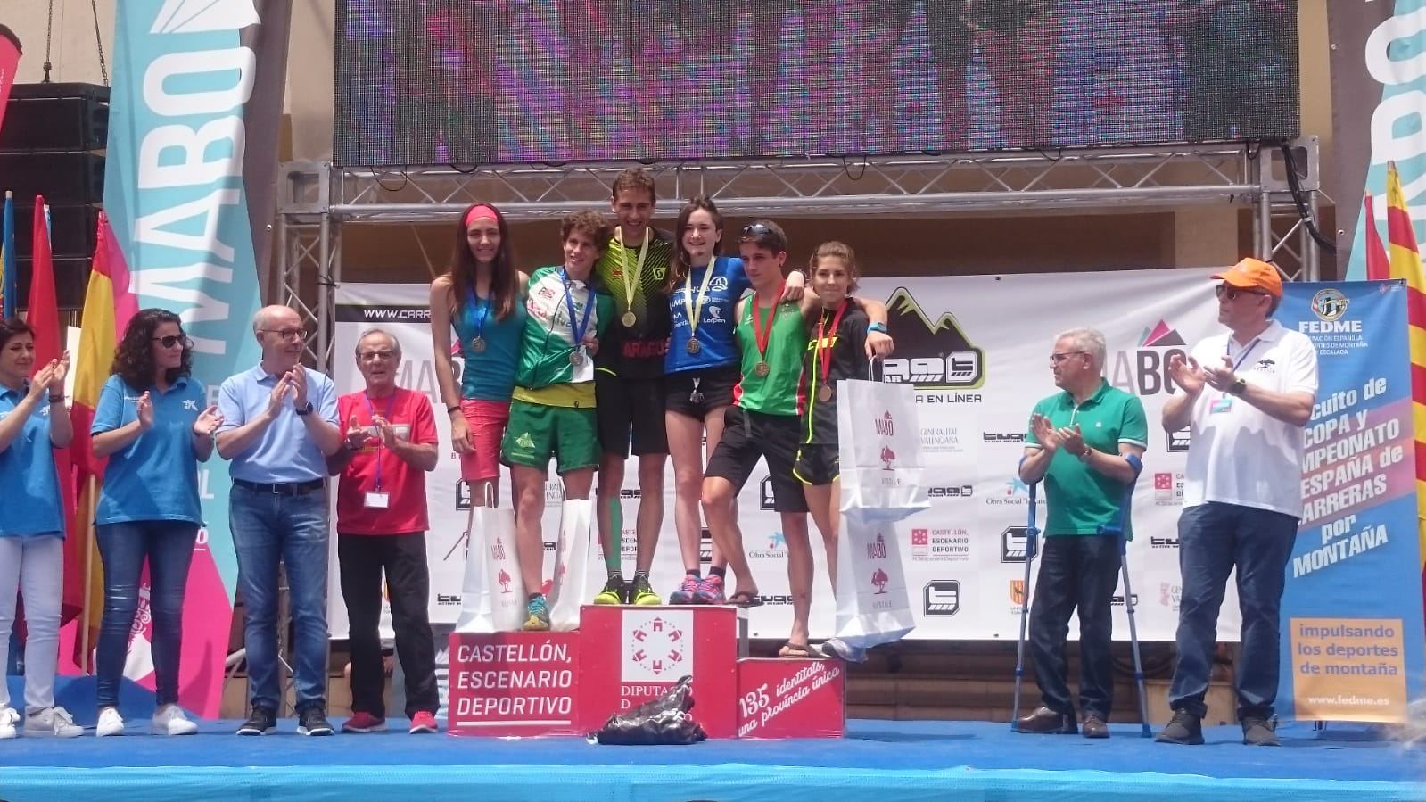 PODIUM MABO JUNIOR