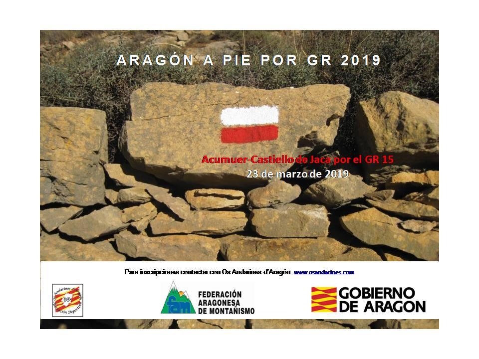 Os Andarines Acumuer Castiello de Jaca. 23.03.2019