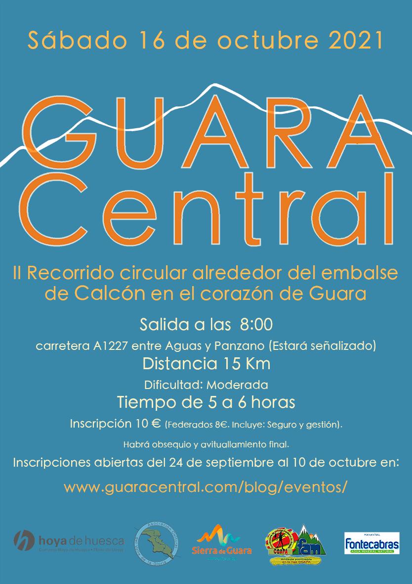 CARTEL ANDADA GUARA CENTRAL