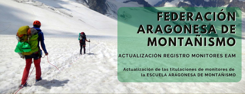 ACTUALIZACIÓN REGISTRO MONITORES EAM