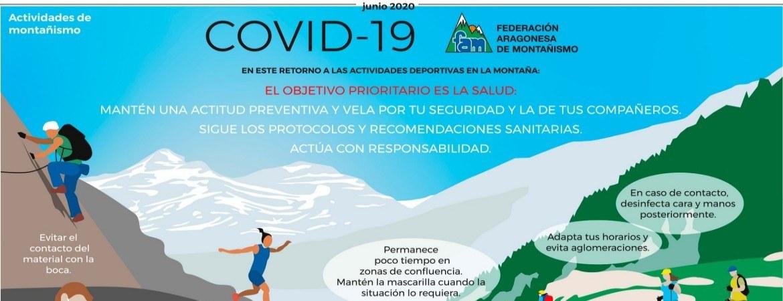 INFOGRAFÍAS DEPORTES DE MONTAÑA Y COVID 19