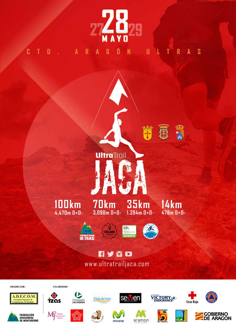 Cartel Ultra Trail Jaca 2016