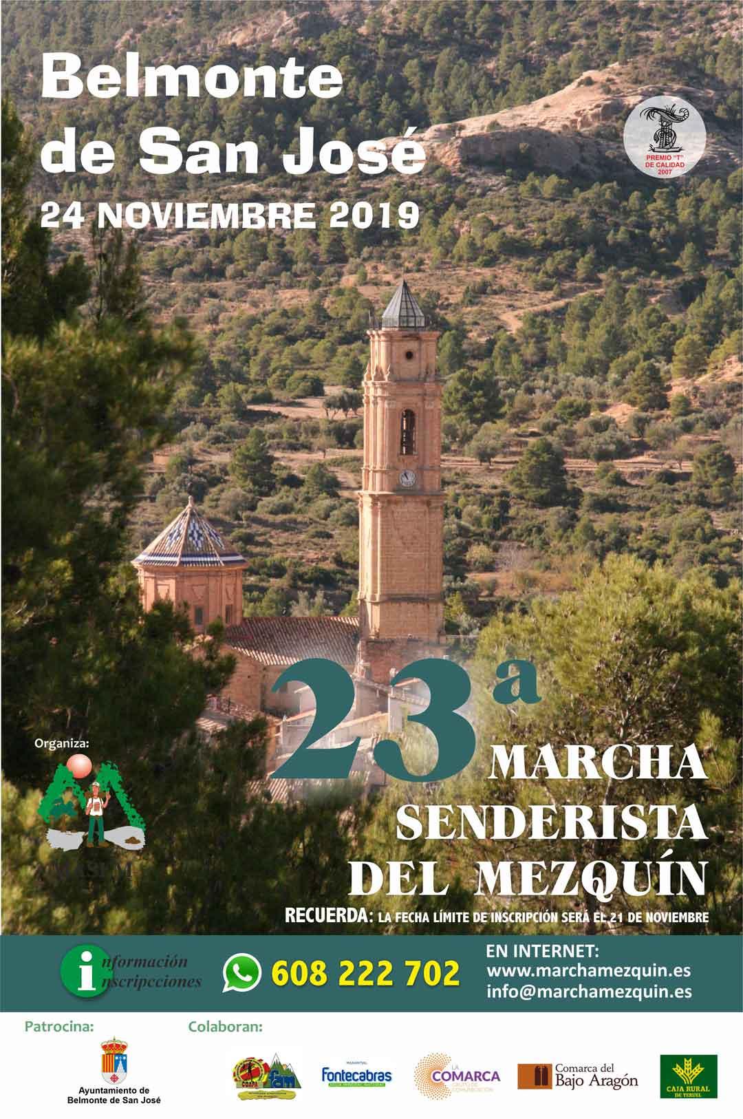 cartel Marcha Mezquin 2019